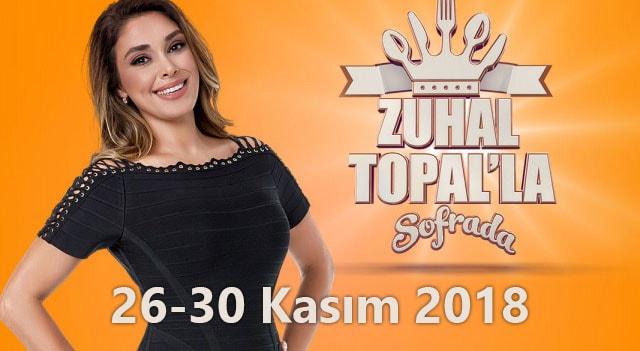 Zuhal Topal'la Sofrada 26-30 Kasım Yarışmacıları Kimdir? Nerelidir?
