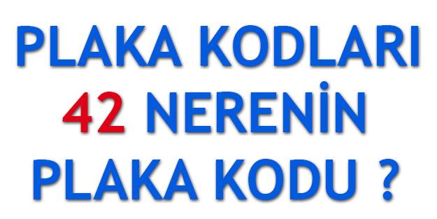 42 Plaka Kodu