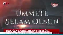 Cumhurbaşkanı Erdoğan'a Diriliş Ertuğrul'lu teşekkür müziği klibi