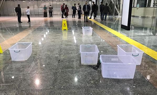 Hatay Havaalanını sulara teslim oldu!