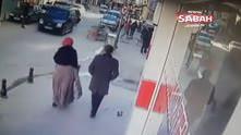 Hırsızlar Taş attıkları aracı böyle soydular