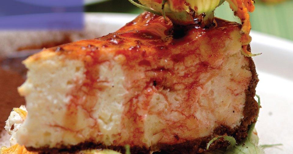 Kabak Çiçekli Cheesecake Tarifi Nasıl Yapılır?
