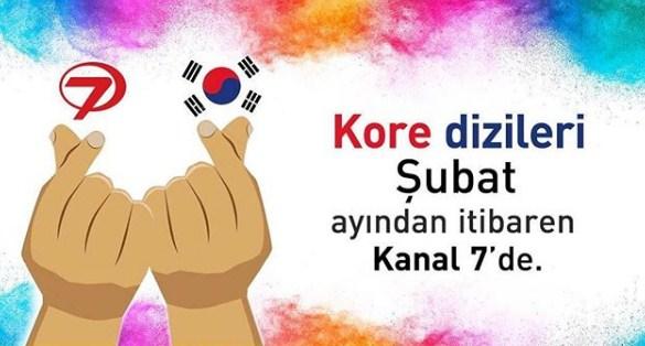 Kore dizileri şubat ayından itibaren Kanal 7 ekranlarında