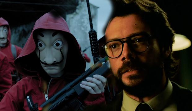 La Casa De Papel Dizisi 4. sezon ne zaman başlayacak sorusu yanıt buldu mu?