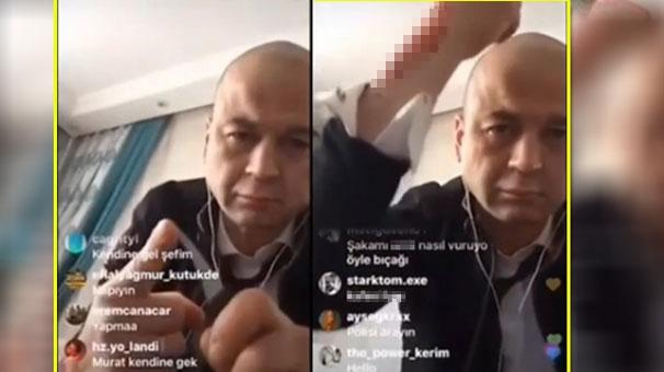 MasterChef Murat Özdemir canlı yayında bıçakla kendini kesti!