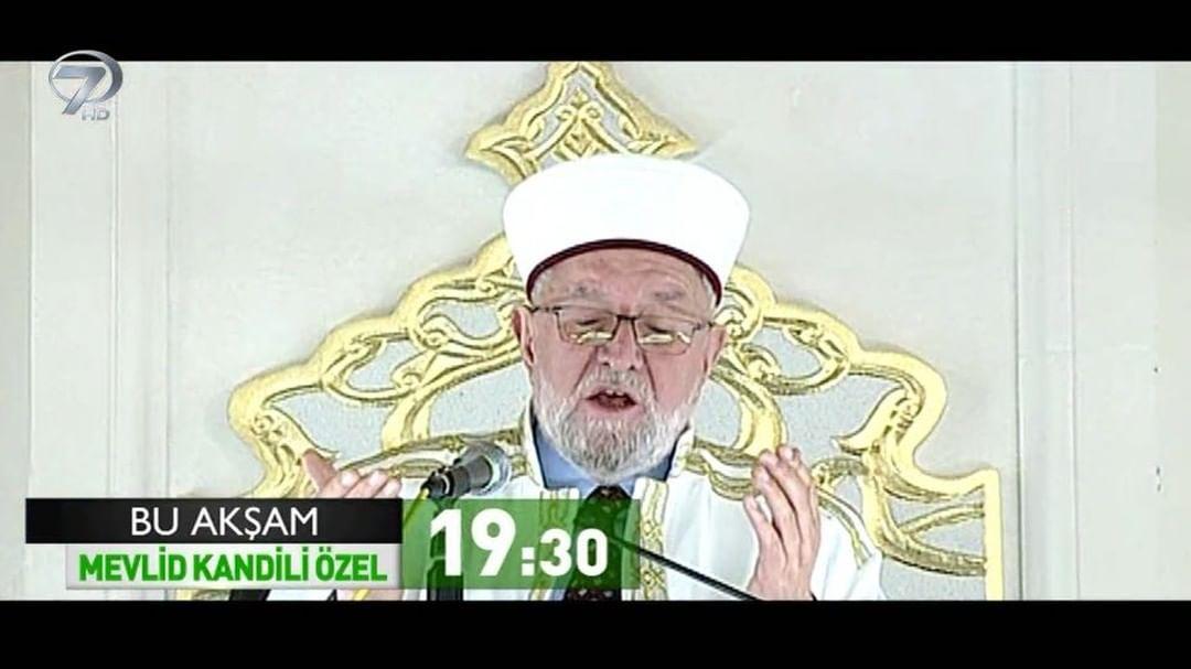 Mevlid Kandili Özel Program Bu Akşam Kanal 7'de.