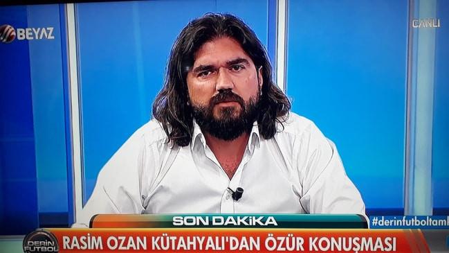Rasim Ozan Kütahyalı'dan Özür Konuşması BeyazTV Derin Futbol