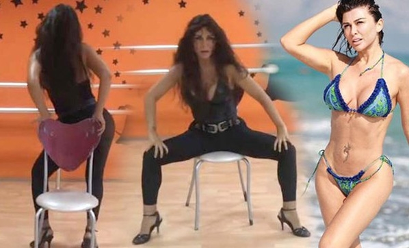 Selen Görgüzel'in sandalye dansı videosu gündem yarattı