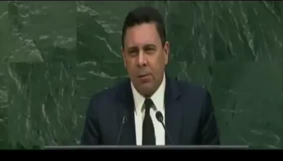 Venezuela BM Daimi TemsilcisiSamuel Moncada'dan BM'de efsane konuşma