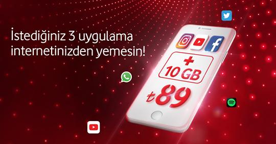 Vodafone Benim Pass'im tarifesi ayda 89 TL ucuz mu?