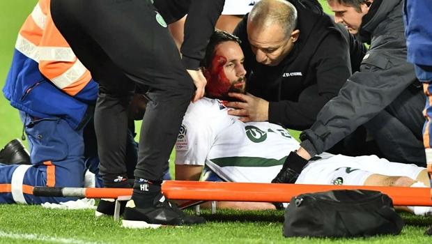 Yıldız futbolcu Neven Subotic korkuttu! Kanlar içinde kaldı