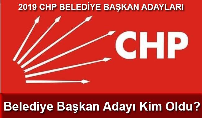 CHP Istanbul belediye başkan adayı kim oldu?