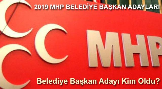 MHP Gulnar belediye başkan adayı kim oldu?