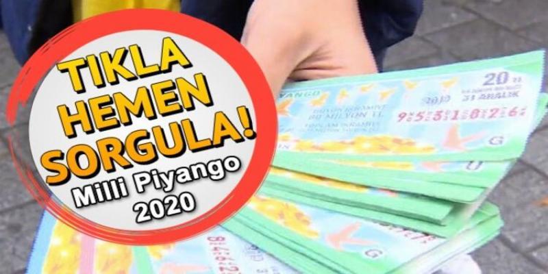 31.12.2019 Milli piyango sonuçları kazanan tüm biletlerin sıralı listesi