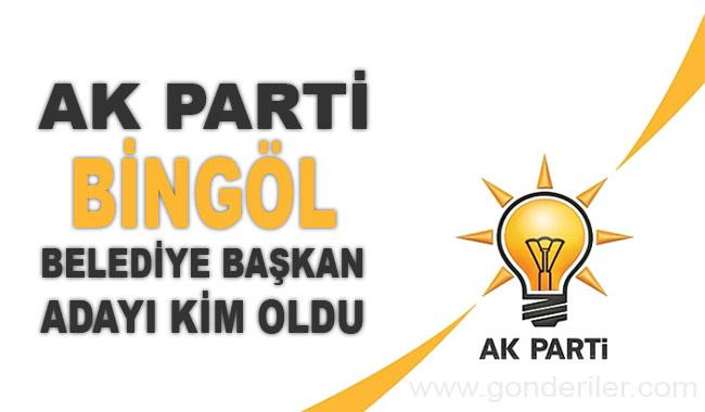AK Parti Bingol belediye başkan adayı kim oldu?