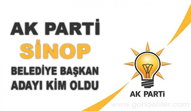 AK Parti Sinop belediye başkan adayı kim oldu?