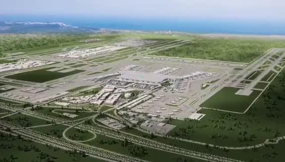 İGA, İstanbul Yeni Havalimanı'nı 3D animasyon filmi ile böyle tanıttı