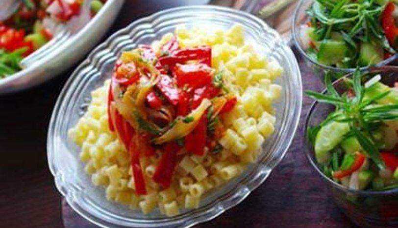Kırmızı Biberli Soğanlı Makarna Tarifi Nasıl Yapılır?