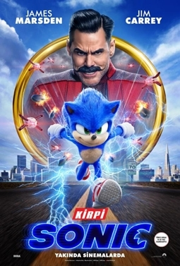 Kirpi Sonic Filmi (Sonic the Hedgehog)
