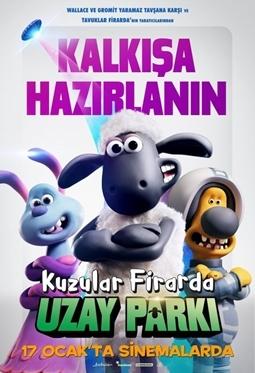Kuzular Firarda: Uzay Parkı Filmi (Shaun the Sheep Movie: Farmageddon)