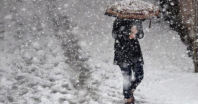 Meteoroloji'den 10 il için kar yağışı uyarısında bulundu!