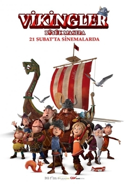 Vikingler Büyük Macera Filmi (Vic the Viking and the Magic Sword)